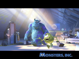 мультфильмы, monsters, inc