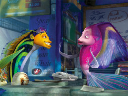 мультфильмы, shark, tale