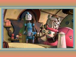 robots, мультфильмы