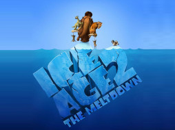 обои для рабочего стола 1024x768 мультфильмы, ice, age, the, meltdown