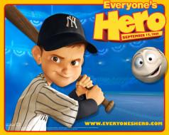 обои для рабочего стола 1280x1024 мультфильмы, everyone`s, hero