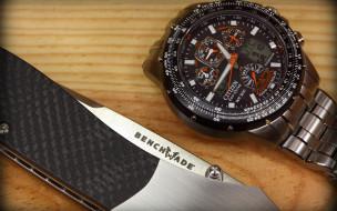 бренды, citizen, часы, нож