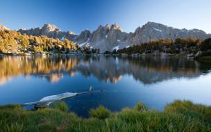 обои для рабочего стола 1920x1200 природа, реки, озера, озеро, горы, коряга