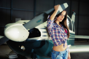 самолёт, пропеллер