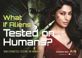 бренды, peta, people, for, the, ethical, treatment, of, animals, инопланетянин, шприц, опыт, девушка
