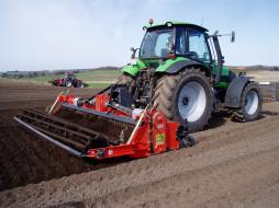 traktor, техника
