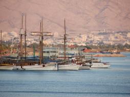 eilat, israel, корабли, порты, причалы