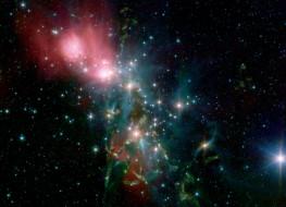 пылевая, туманность, ngs, 1333, космос, галактики, туманности