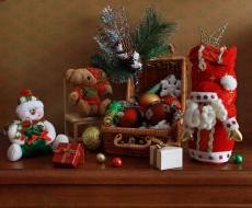 праздничные, украшения, подарки