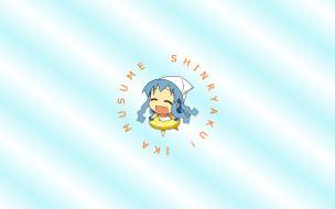 обои для рабочего стола 2560x1600 аниме, shinryaku, ika, musume, девушка