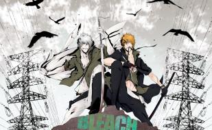 Для рабочего стола аниме bleach kurosaki ichigo