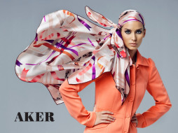 aker, бренды, платок