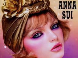 anna, sui, бренды, макияж