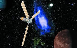 Обои - Kосмические спутники (40 обоев) .