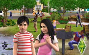 видео, игры, the, sims