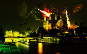 фэнтези, драконы