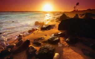 природа, восходы, закаты