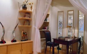 интерьер, кабинет, библиотека, офис