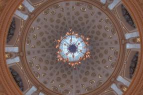 обои для рабочего стола 1646x1092 интерьер, дворцы, музеи, купол