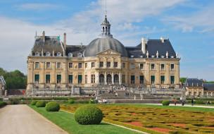 Château de Vaux-le-Vicomte обои для рабочего стола 1440x900 ch&, 226, teau, de, vaux, le, vicomte, города, замки, луары, франция
