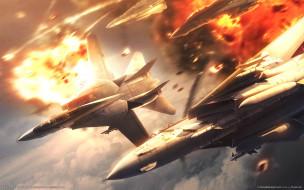 видео, игры, ace, combat, the, unsung, war