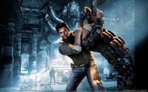 uncharted, among, thieves, видео, игры