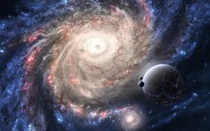 обои для рабочего стола 1920x1200 космос, галактики, туманности, звезды, планеты, галактика