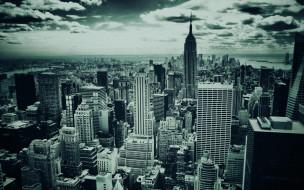 new, york, города, нью, йорк, сша