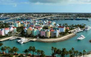 Pastels of Marina Village - Paradise Island обои для рабочего стола 1920x1200 pastels, of, marina, village, paradise, island, города, панорамы