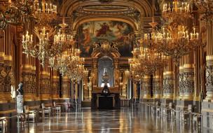 Opera House of Paris обои для рабочего стола 1920x1200 opera, house, of, paris, интерьер, дворцы, музеи