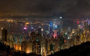 hong, kong, города, гонконг, китай
