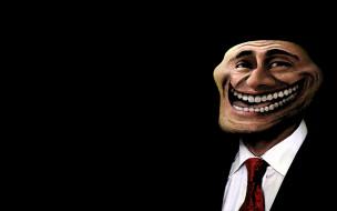 TrollFace обои для рабочего стола 1680x1050 trollface, векторная, графика, галстук, лицо, тролля