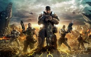 gears, of, war, видео, игры