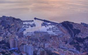 monaco, города, монте, карло, монако