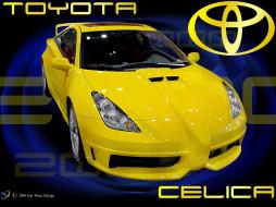 toyota celica обои для рабочего стола 1024x768