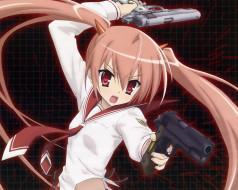 аниме, aria, the, scarlet, ammo