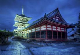 meditation, station, города, буддистские, другие, храмы, kyoto, japan