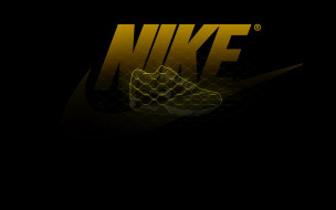 бренды, nike, чёрный, обувь