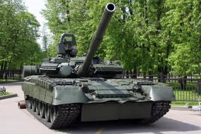 обои для рабочего стола 2250x1500 техника, военная, гусеницы, т-80, дуло, танк, гусеничная, бронетехника