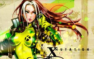 shunya, yamashita, аниме, artist, rogue, x-men