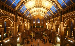 natural, history, museum, london, интерьер, дворцы, музеи, англия, музей
