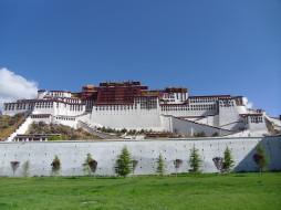 potala, palace, города, дворцы, замки, крепости, Тибет