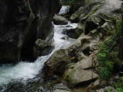 природа, реки, озера, вода, река, камни
