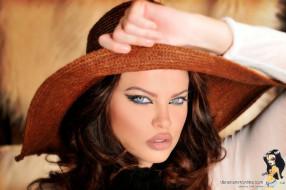 Dana Hamm, девушки, , , шляпа