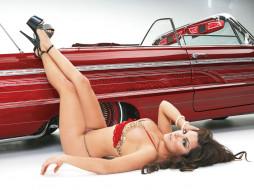 автомобили, авто, девушками, mary, cherry