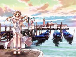 аниме, aria, девушки