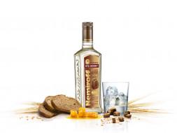 бренды, nemiroff, стакан, водка, хлеб, мед, лед, колоски