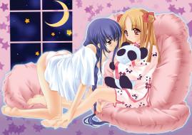аниме, yami, to, boshi, hon, no, tabibito, спальня, девушки, игрушка