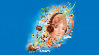 бренды, bounty