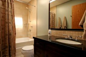 обои для рабочего стола 3000x2000 интерьер, ванная, туалетная, комнаты, умывальник, зеркало, ванна, унитаз